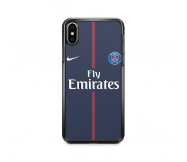 Coque iPhone X maillot du Paris Saint Germain 17-18