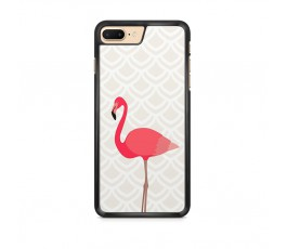 Apple iPhone 8 Plus flamant rose design